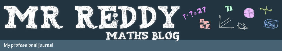 Mr Reddy Maths Blog