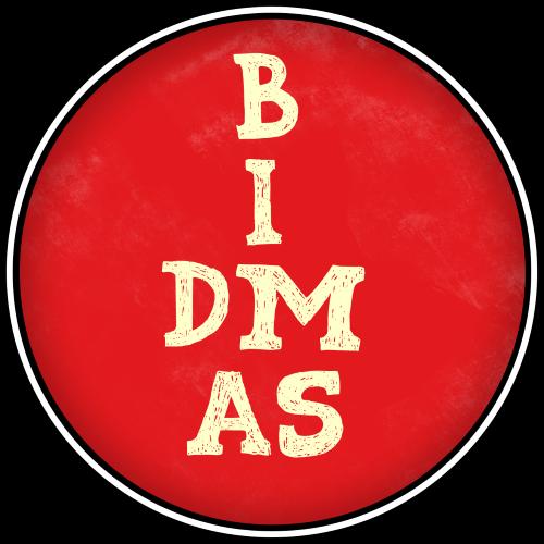 1 BIDMAS Class Badge