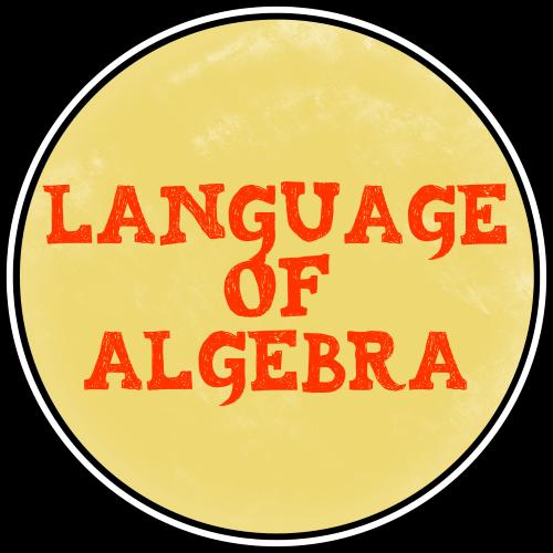 2 Language of Algebra Class Badge