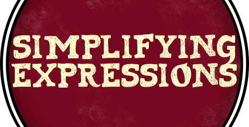 5 Simplifying Expressions Class Badge